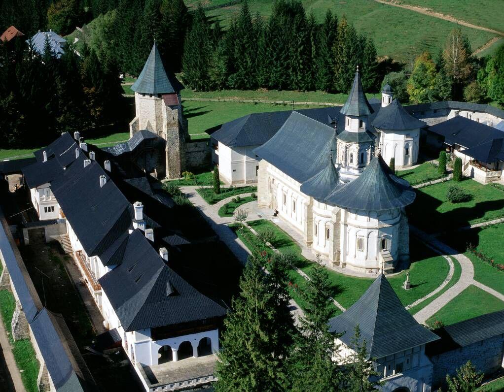 Vedere generală a mânăstirii