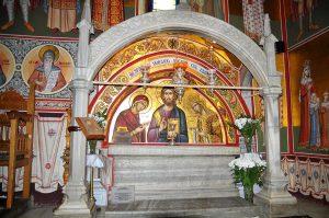 Mormântul lui Stefan cel Mare de la Mânăstirea Putna