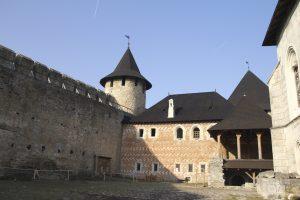 curtea interioară - cetatea hotin