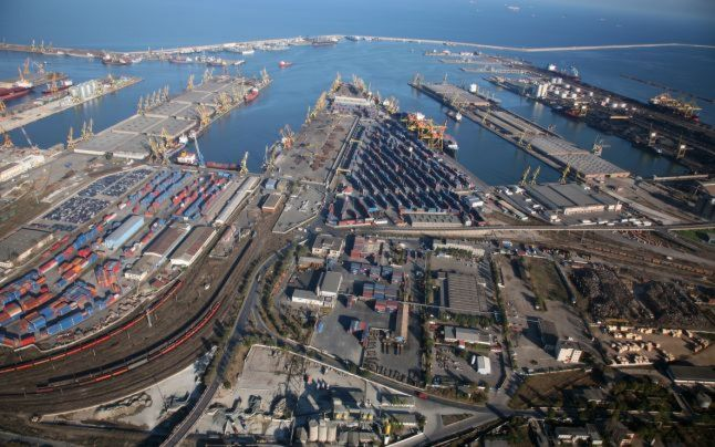 Șantierul naval din Constanța