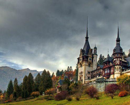 Vedere generală a castelului