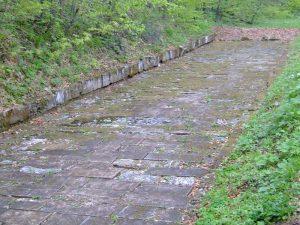 drumul pavat de la Sargmizegetusa Regia