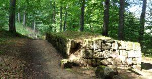 zid de apărare al cetății Sarmizegetusa Regia