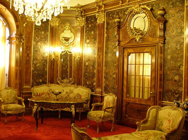 Interior al castelului Peleș