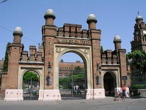 Poarta principală - Universitatea din Cernăuți