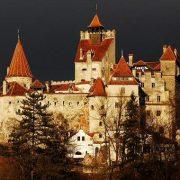 vedere generală a castelului Bran