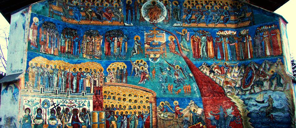 Mânăstirea Voroneț - unde albastrul este cel mai albstru - Centrul Cultural  Român Eudoxiu Hurmuzachi